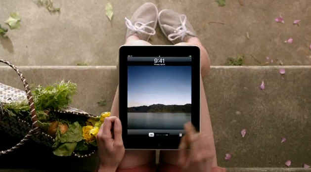 Apple's new iPad mobile ad service