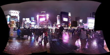 Tokyo Shibuya by night