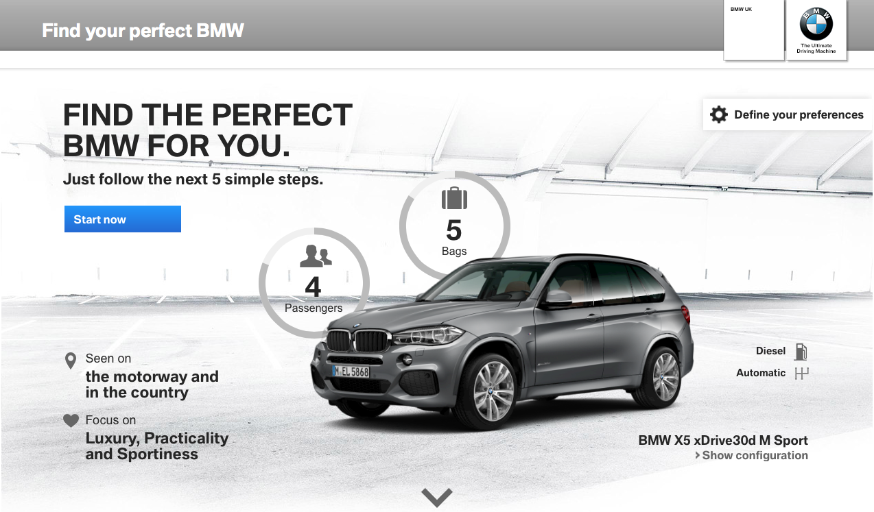 Find your perfect BMW 1