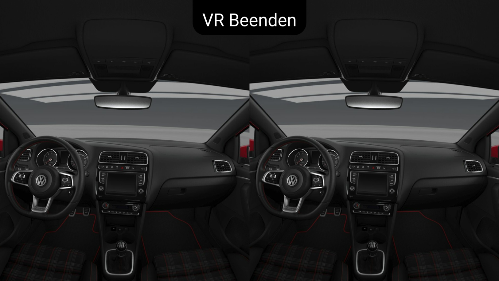 VW Interior VR View